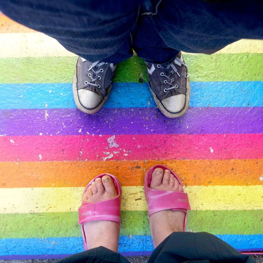 insta rainbow