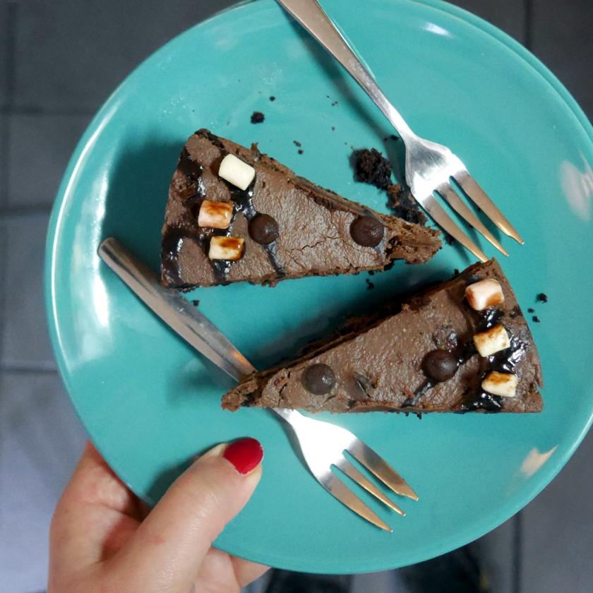 insta tofurei cheesecake