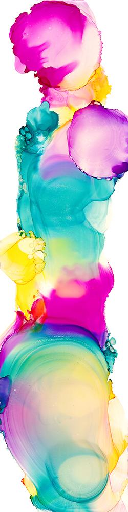 72 px rainbow